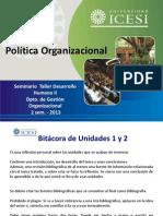 la Politica Organizacional