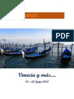 Venecia y más. Viaje UNED 2014
