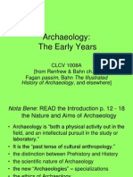 CLCV 1008 Archaeology The Early Years [Ch. 1]