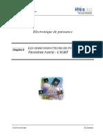Chapitre 08 - Les Semiconducteurs de Puissance, l'IGBT