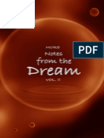 Notes From the Dream Vol. II