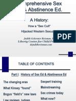 Comprehensive Sex & Abstinence Ed.