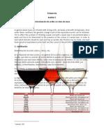 Acidez en vinos de mesa