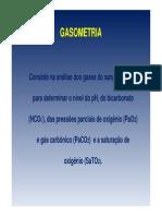 GASOMETRIA COMPLETA