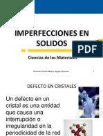 Imperfecciones en Solidos
