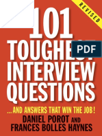 101 Toughest Interview Questions by Daniel Porot - Excerpt