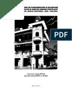 Studiu Istoric de Fundamentare Si Delimitare a Obiectivelor Si Ariilor Urbane Protejate