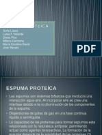 ESPUMA PROTEICA. 1