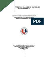 Origen y Progreso Alcanzo en Materia de Revisoria Fiscal