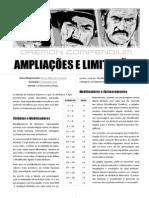 daemon compendium - ampliações e limitações