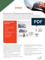 Solutions Overview Automotive Tabloid