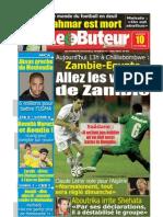 LE BUTEUR PDF du 10/10/2009