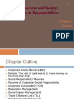 3 Corporate Social Responsibility - The Concept Chp 7 (Jan 22)