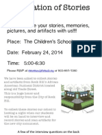 celebration of stories flyer