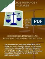 Derechos Humanos y Normativa Ff.aa.