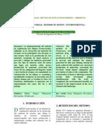 Diques Transversales Metodo de Explotacixn Minero x Ambiental