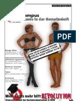 ver.di Campus-Zeitung Nr. 1 im Wintersemester 2009/10