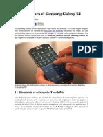 10 Trucos Para El Samsung Galaxy S4