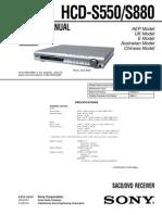 SONY+HCD-S550,+S880