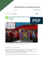 Gmail - [Nuovo Articolo] Il Venezuelano Maduro Tiene Una Manifestazione Di Massa