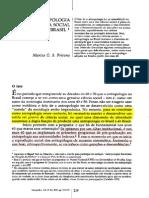 Antropologia Como Ciencia Social No Brasil