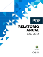 Relatorio Anual Cnj 2013