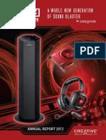 1. Creative Annual Report 2012