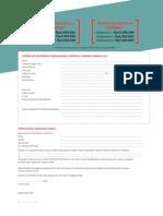 Formulir Pendaftaran Sayembara Cerpen dan Cerber Femina 2014