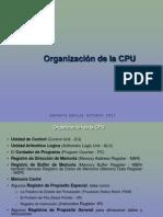 Organizacion de La Cpu