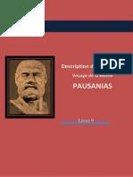Pausanias-Description de la Grèce- La Béotie- http://www.projethomere.com