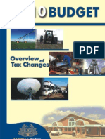 2010 Budget Hightlights