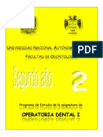 Operatoria Dental i 2013 Cc