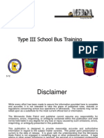 type lll school bus training 2013-2014