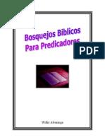 Bosquejos bíblicos para predicadores