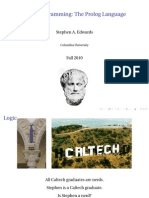 prolog the programming language