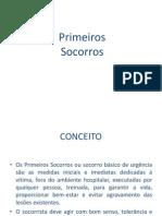 5 - PRIMEIROS SOCORROS