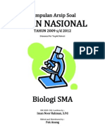 Kumpulan Arsip Soal UN Biologi SMA Tahun 2009-2012-1