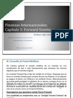Finanzas Internacionales Forward Sintc3a9ticos