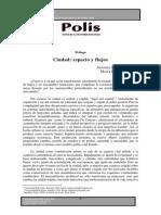 Elizalde y Tijoux - ·  Ciudad. Espacio y flujos.pdf