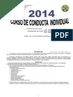 Program a Anual Conduct a Individual 2014