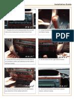 CA-Fi Toyota Prado 2006 Installation Manual