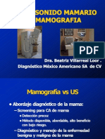 ultrasonido mamamrio