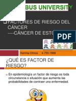 Factores de riesgo del cáncer