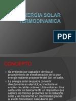 Energia Solar Termodinamica