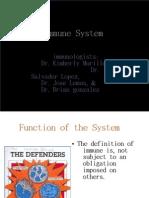 Immune System Immune System
