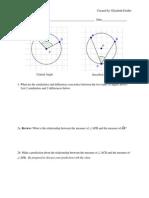 Angle Worksheet