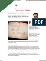 10 reglas para hacer diseño editorial _ Mario Balcázar _ FOROALFA