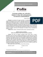 Delgado - Ecología política de suburbia. Límites y retos del ordenamiento territorial estadounidense.pdf