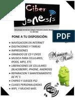 CIBER GENESIS PONE A TU DISPOSICIÓN2