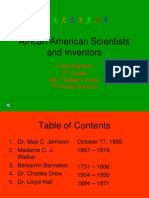 Africanamerican Scientists and Inventors